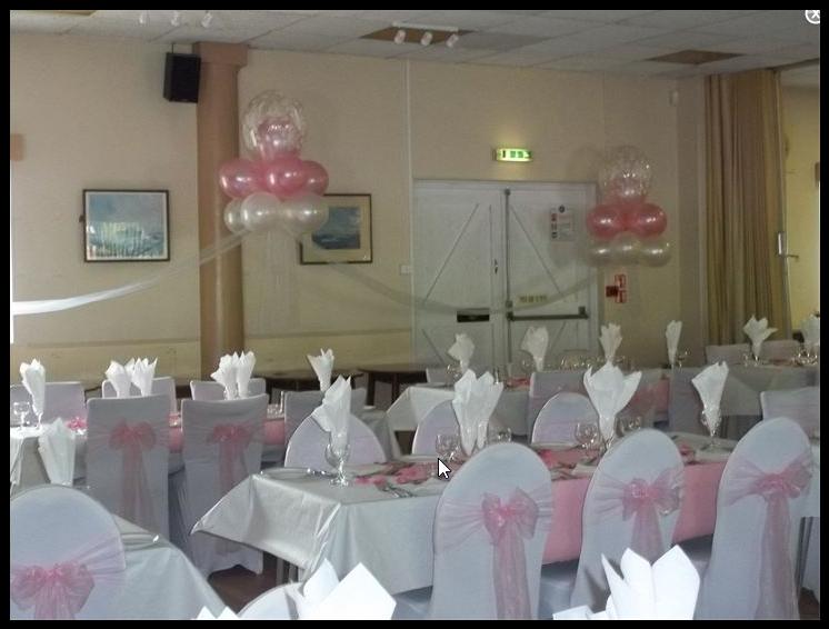 Atlantic Room dressed for wedding reception