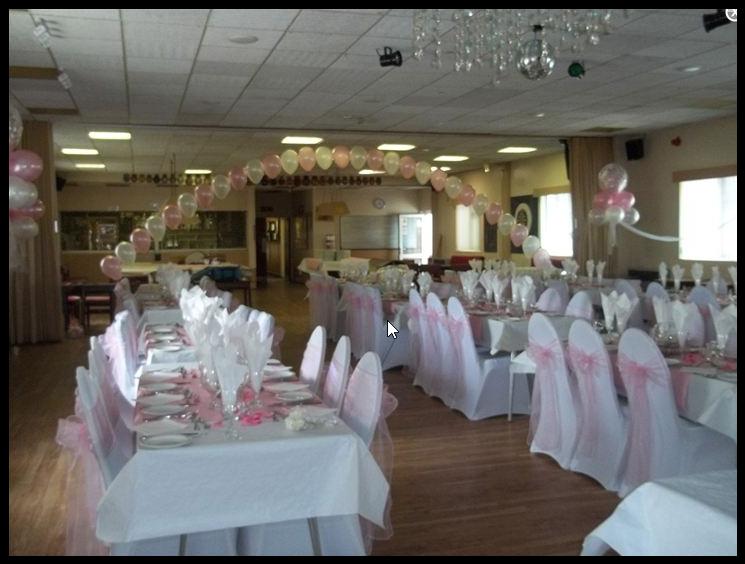 Atlantic Room dressed for Wedding