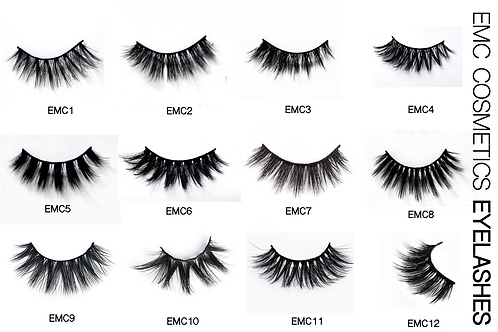 Set of 5 Eyelashes