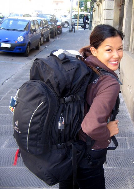Solo Backpacking in Italy in 2008.
