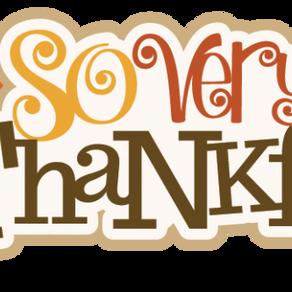 Learnings for Thanksgiving 2017