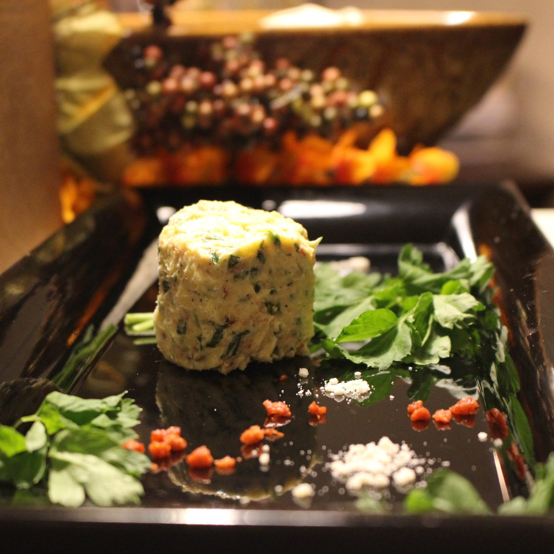 Cheesy, Bacon & Parsley Butter