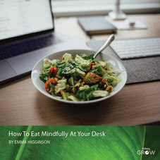Eat Mindfully at Your Desk