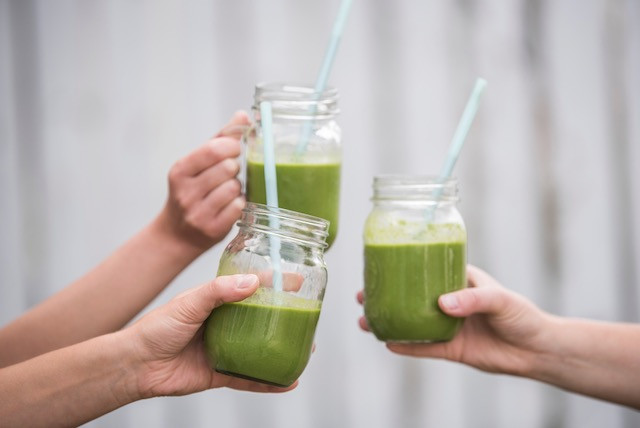 Up your veggie intake with a daily green smoothie