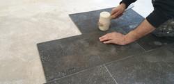 Renovatiewerken vloer