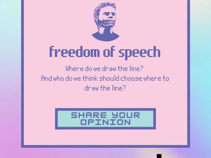 Lunch2B n°5: Freedom of Speech
