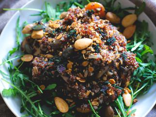 Gran'Hola! Quinoa aux shiitakés et pleurotes