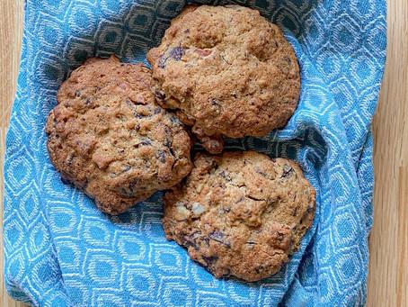 Cookies tahini/chocolat
