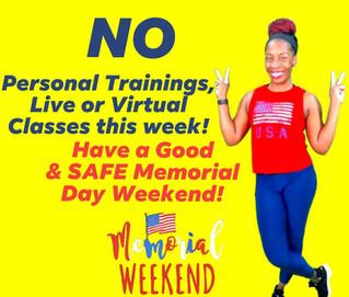 Fitness Week 5/30/21