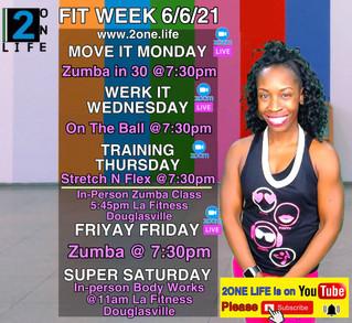 Fitness Week 6/6/21