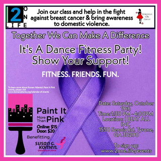 3rd Annual Breast Cancer & Domestic Violence Fitness Event