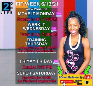 Fitness Week 6/13/21