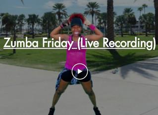 Zumba Tonight!