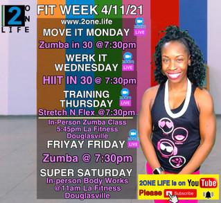 Fitness Week 4/11/21