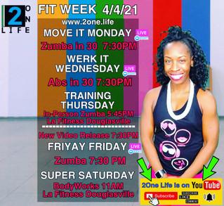 Fitness Week 4/4/21