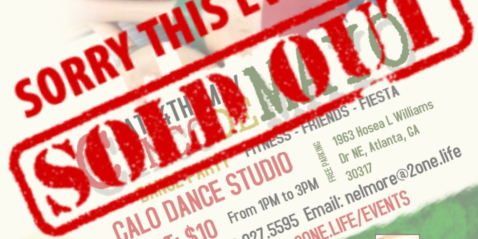 CINCO DE MAYO DANCE PARTY (SOLD OUT!)