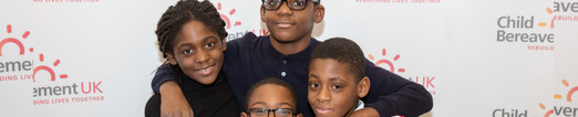 Bereaved children and young people supported in East Loondon