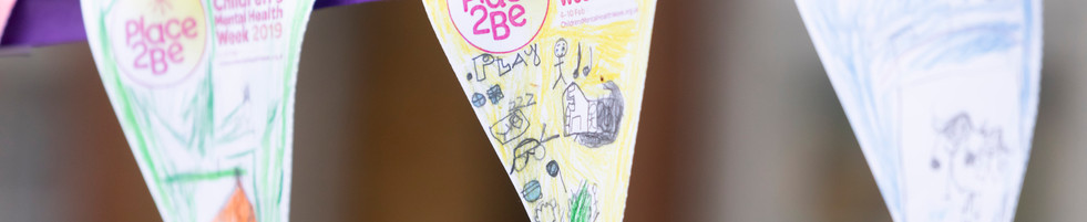 Place2Be Banners Childrens Mental Health