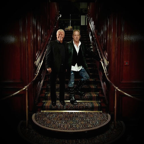 Derek Acorah Jimmy Devlin The Ghost Finder General Derek Acorah Ghost Hunt Liverpool Town Hall