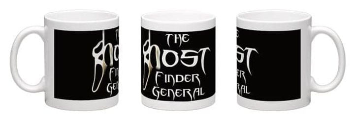 Jimmy Devlin The Ghost Finder General Logo Souvenir Mugs