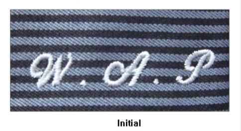 Initial Monogram