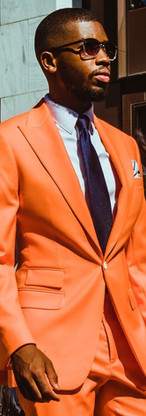 Custom orange splash
