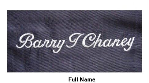 Full Name Monogram