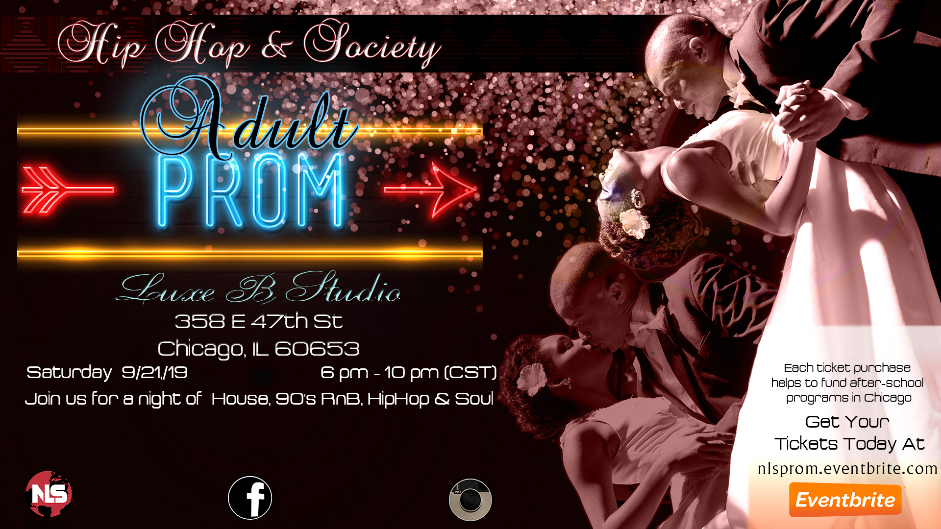 Adult Prom Flyer