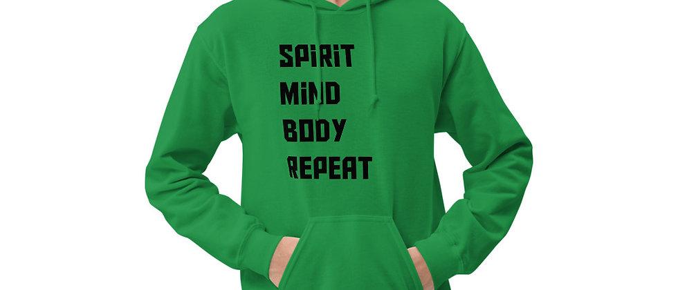 Spirit Mind body Repeat Unisex Hoodie