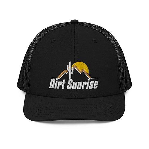 Dirt Sunrise Trucker Cap
