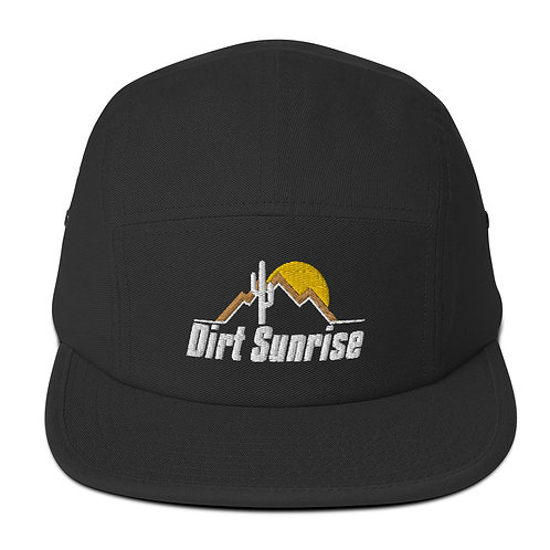 Five Panel Dirt Sunrise Cap