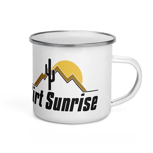 Enamel Dirt Sunrise Mug