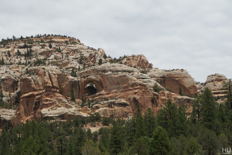 Arches were everywhere on this trip. Some marked and named and others you'd just catch site of as you passed by
