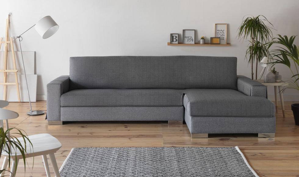 Funda de sofá - Castaño