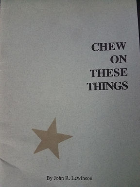 Chew on these things