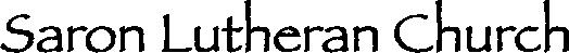 Saron Lutheran Church logo.png