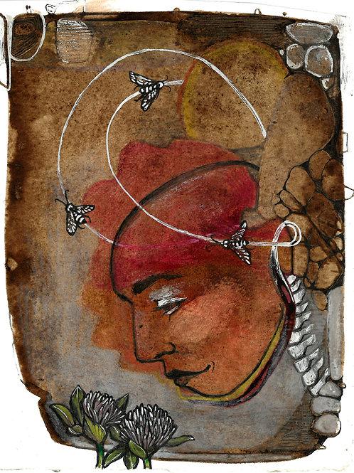 Queen of Pentacles print