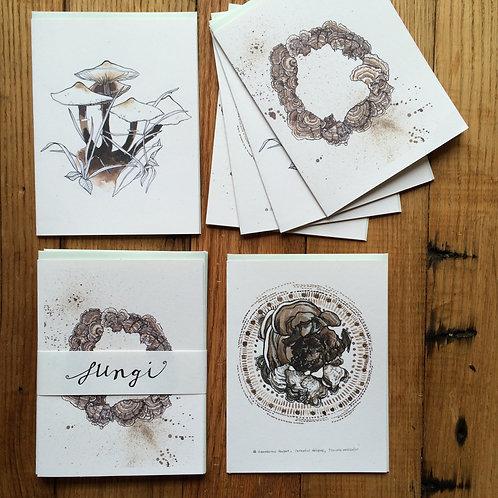 Fungi /// greeting card set