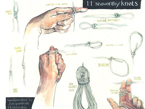 Seaworthy Knots poster