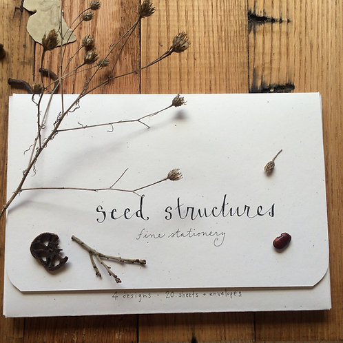 Seed Structures letter sheets