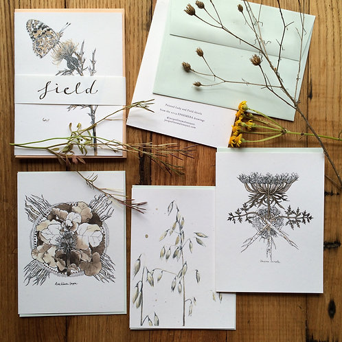 Field /// greeting card set