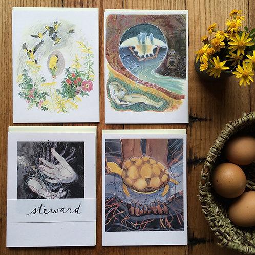 Steward /// greeting card set