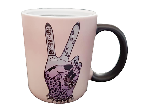 Dark Arts Peace Colour Changing Mug