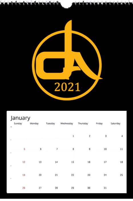 Dark Arts Calendar 2021