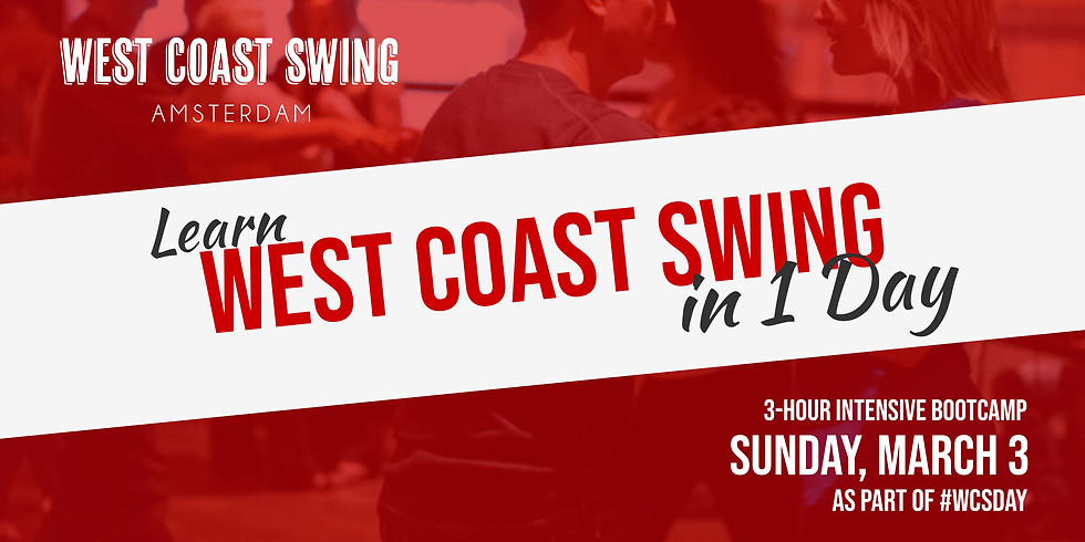 Learn West Coast Swing in 1 Day: 3-hour Bootcamp