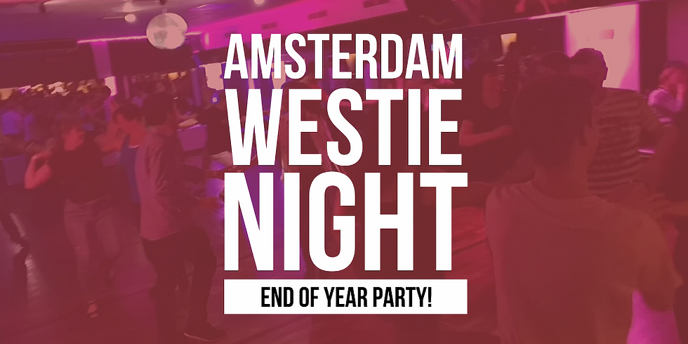Amsterdam Westie Night: End of Year Party