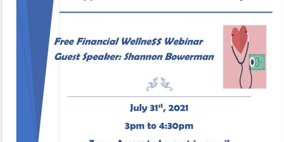 Free Financial Wellne$$ Webinar