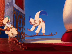 Aladdin: Background Painting