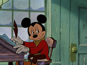 Mickey's Christmas Carol: Background Painting