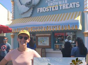 California Adventure's Adorable Snowman Treats